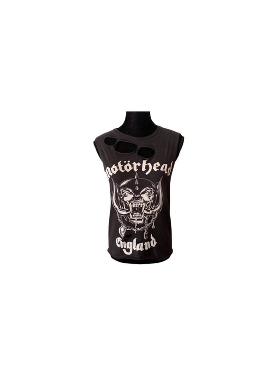 Motorhead | Band Tee | Distressed | Rock Band | Mo