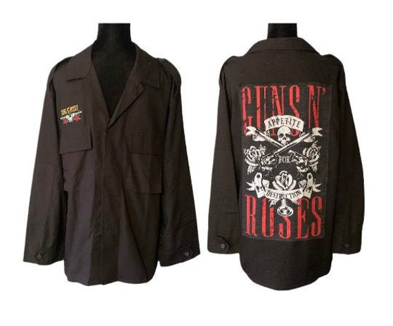 Guns N Roses | Jacket | Rock Band | Guns N Roses J