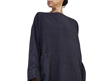 ChomThong Hand Woven Cotton Long Dress No.2  (DFS-054)