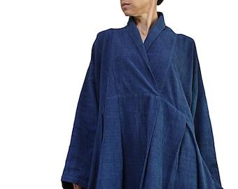 ChomThong Hand Woven Cotton Simple Cloak JNN-073-01