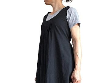 Soft Cotton Sleeveless Tunic (BFS-166-01)
