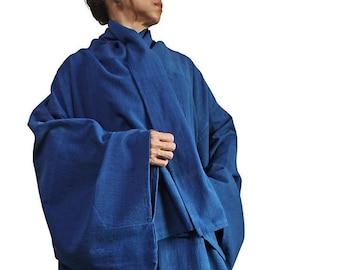 ChomThong Hand Woven Cotton Kimono Jacket and Dress Ensemble  (DFS-047)