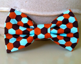 Dog Bow Tie- Geometric Pattern