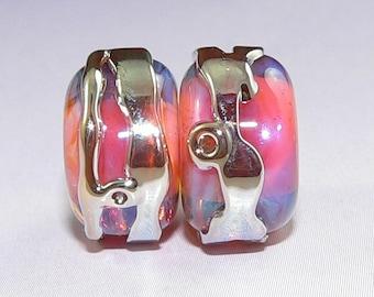 verschiedene Farben,Farbe wählbar A38 10 Samt-Perlen ca.15mm,Acryl