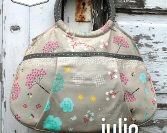 27c3b71aacf8 Swoon Patterns  Julie Ring Top Handbag - PDF Vintage Bag Purse Handbag  Sewing Pattern