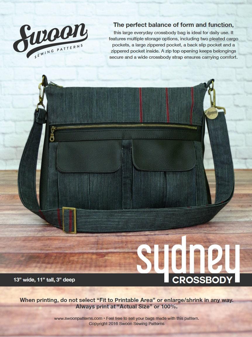 5 Multi Pocket Tote Bag Patterns