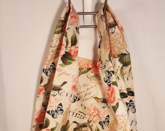 Spring Song Reusable Grocery Bag