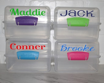 CLOSEOUT-Personalized Lunch Cube