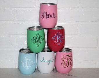 Swig Stainless Steel Personalized Wine Tumbler