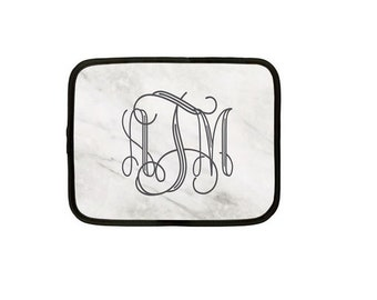 Personalized Laptop Case, Monogram Case, Tablet Case, Protective Sleeve