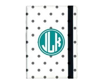 "Monogrammed iPad Pro 12.9"" Booklet Case, Personalized Case, Protective Case, Tablet Case"