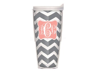 Monogrammed 24 oz. Tervis Tumbler - Mix and Match Design