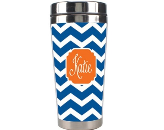 Personalized 15 oz Stainless Steel Tumbler  - Mix and Match Design