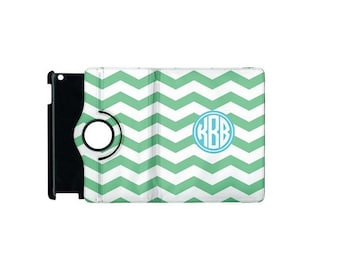 Monogrammed iPad 3/4 360 Booklet Case