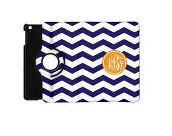 Monogrammed iPad Mini 360 Booklet Case