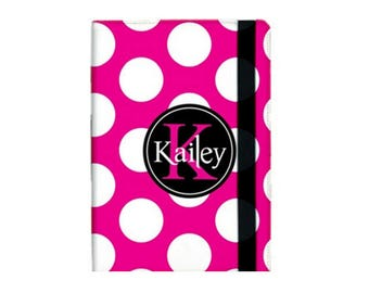 Monogrammed iPad Air 2 Booklet Case, Personalized Case, Tablet, Protective, Custom Design