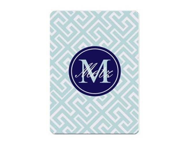 Monogrammed Playing Cards - Mix and Match design