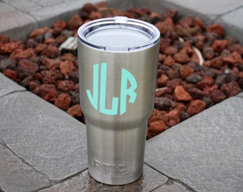 Personalized 30 ounce RTIC tumbler