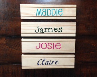 Personalized Playing Card Holder