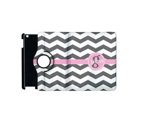 Monogrammed iPad 2 360 Booklet Case, Personalized Case, Tablet Case, Protective Case, Custom esign