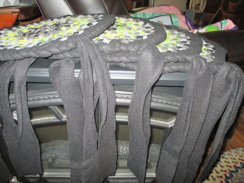 Adirondack Foothills 14 inch Set of BlackGrey with Lime Green