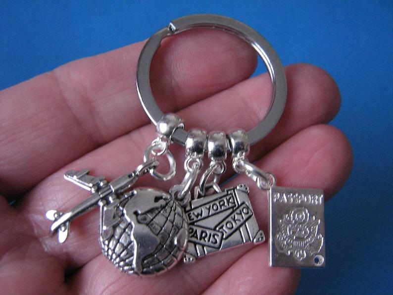 Travel Agent Keyring Gift for a Traveller Keychain Gift | Etsy