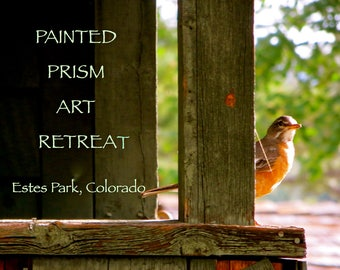 Painted Prism ART RETREAT - Estes Park, Colorado - July 2018 - 3 days & 4 nights - Tuition DEPOSIT for Watercolor Workshops with Pat Howard