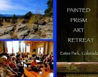 EARLY BIRD BALANCE for Painted Prism Art Retreat - Estes Park, Colorado - July 2018 - Watercolor Workshops with Pat Howard