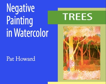 Watercolor Painting Tutorial PDF - Negative Painting of Trees