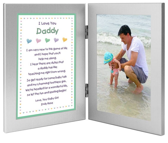 New Dad Personalized Birthday Or Fathers Day Gift Daddy