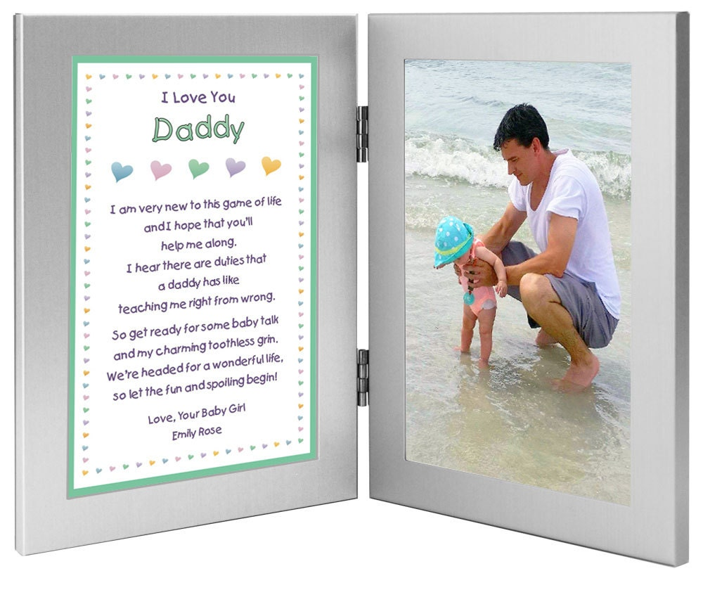 New Dad Personalized Birthday Or Valentines Day Gift