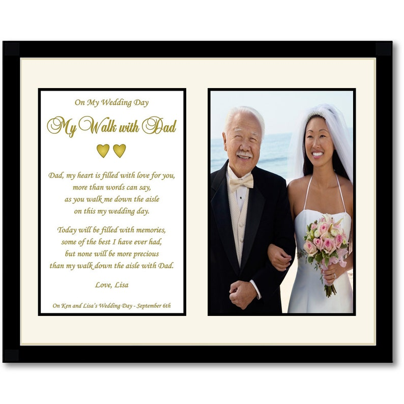 a21f971b8e5 My Walk With Dad Wedding Gift for Father From Daughter