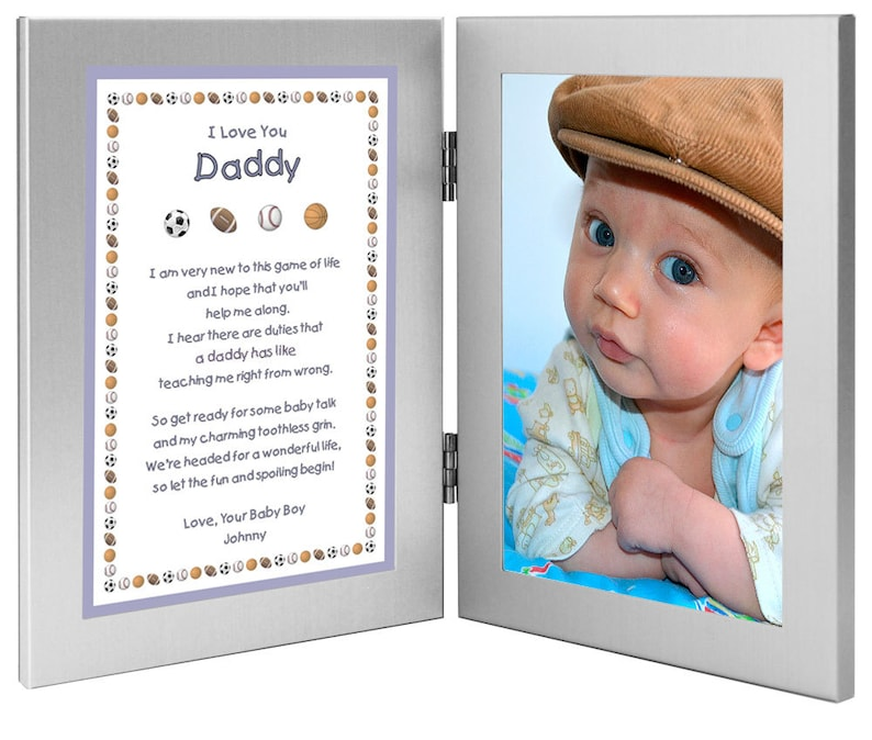 New Dad Personalized Birthday or Father's Day Gift  Daddy image 0