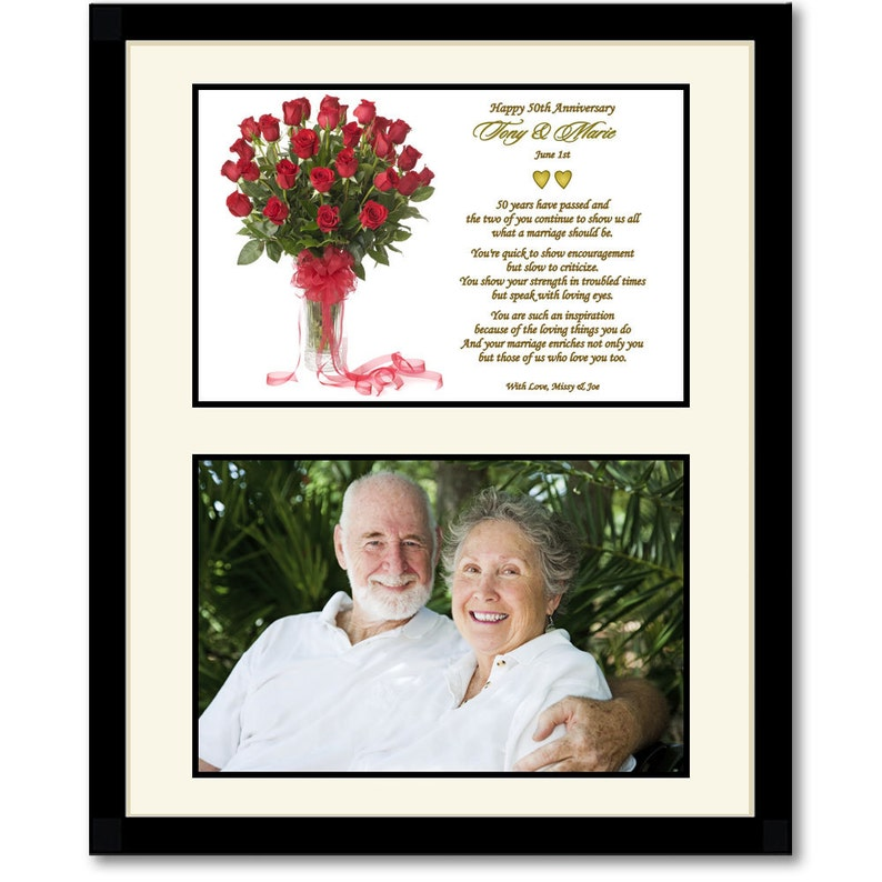 Gifts For Grandparents 50th Wedding Anniversary: 50th Wedding Anniversary Gift For Parents Grandparents