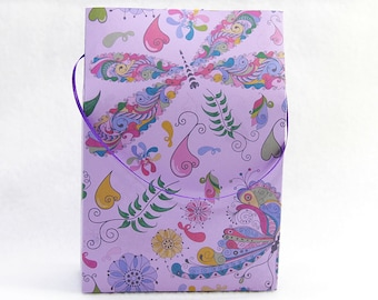 diy bag gift bag paper bag bag template printable gift etsy