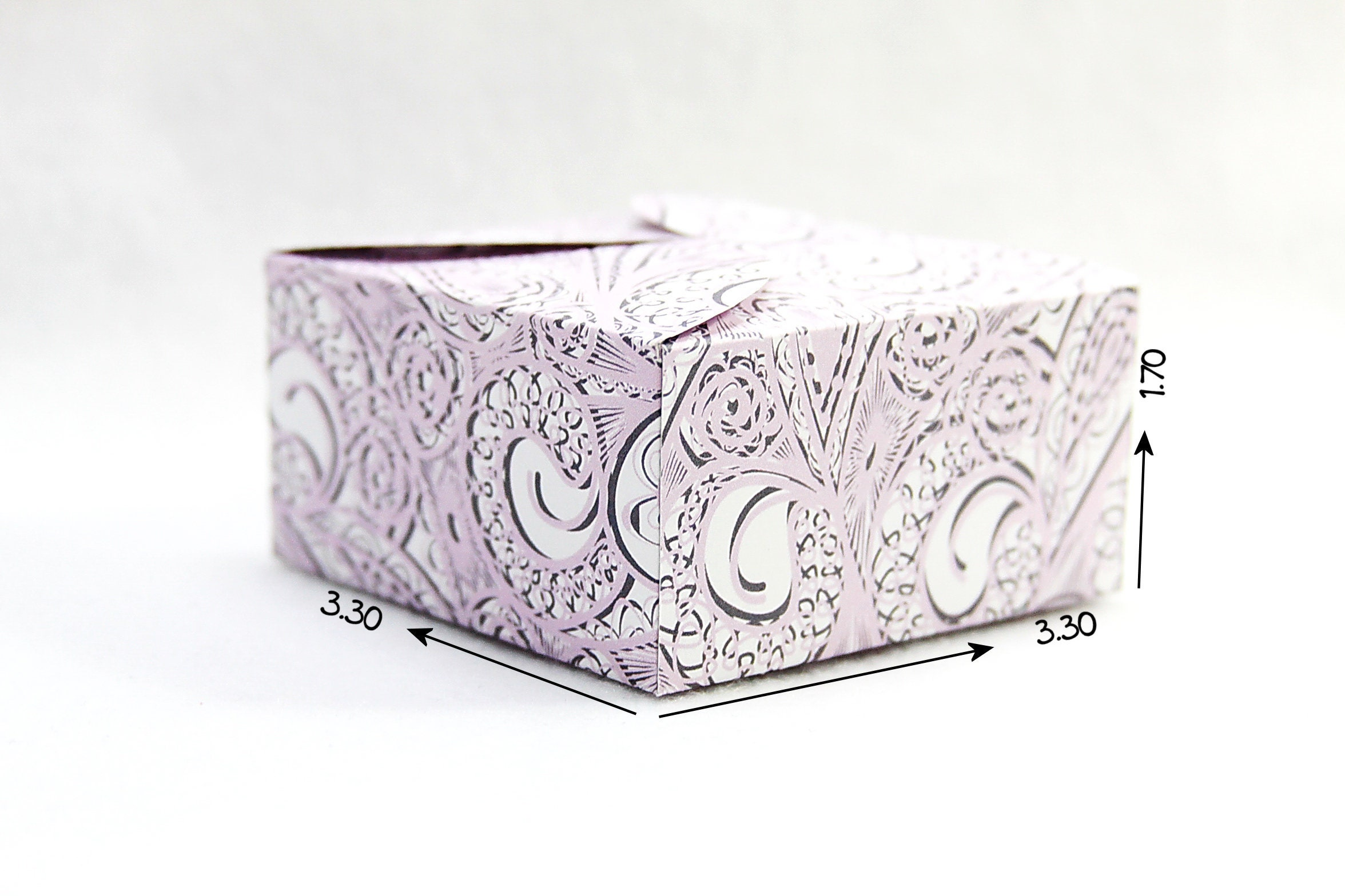 DIY Box Gift Box Paper Box Box Template Printable Gift | Etsy