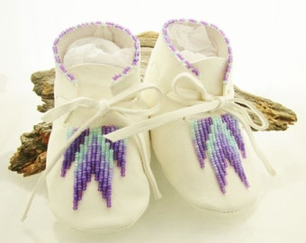 Native American Made Baby Moccasins