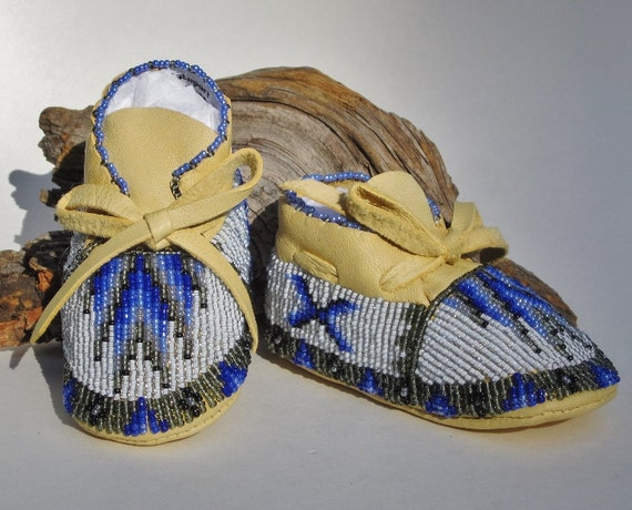 Native American Made Fully Beaded Baby
