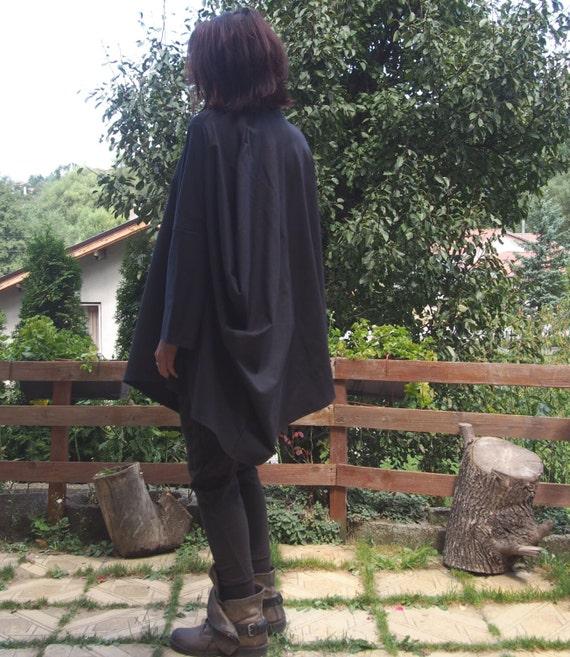 Maxi Nara Plus Sleeves Tunic Long Clothing Loose Asymmetric amp; Top size DT019 Kaftan Extravagant Aw1q7zxAr