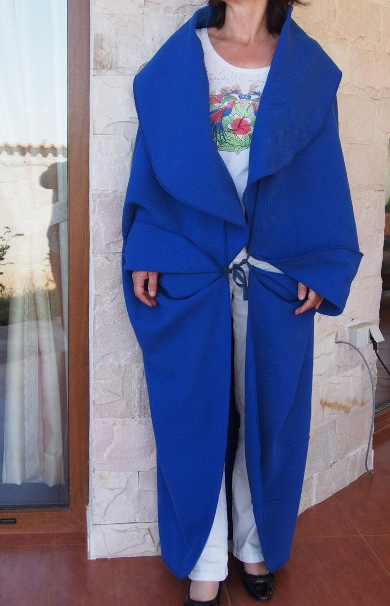 Wool  Cashmere Coat \u0410symmetric Coat Plus Size Long Wool Cardigan /& Nara PG001