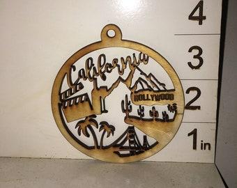 California Ornament and Coaster