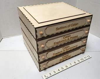 Modular Game Storage - The Catan Series