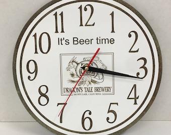"Clock with custom laser engraving (10"")"