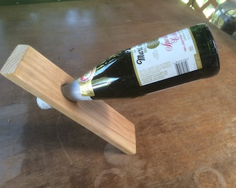 Wine Bottle Stand - Defies Gravity