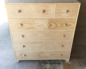 Pine Dresser 5, 6 or 7 Drawer