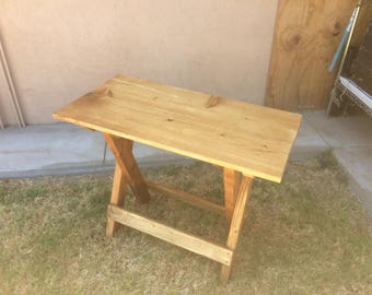 "Fold up table 36"" x 15"" x 29"" high"