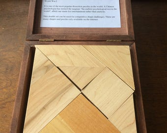 Tangrams, ancient Chinese puzzle
