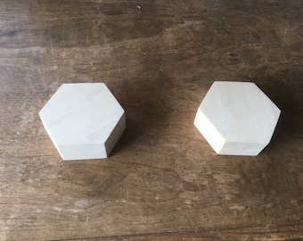 Small Hexagonal Storage Box for Dice and Gaming pieces
