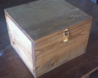 """Simple Storage Box  11"""" by 11"""" by 9"""""""