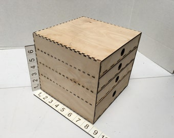 Craft Table Storage - 4 drawer cabinet